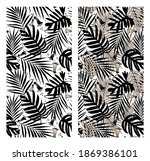 collage of black and white...   Shutterstock .eps vector #1869386101