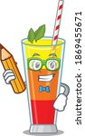 a clever student tequila... | Shutterstock .eps vector #1869455671