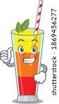 tequila sunrise cocktail... | Shutterstock .eps vector #1869456277