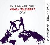 international human solidarity... | Shutterstock .eps vector #1869474934