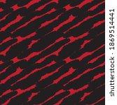 red brush stroke fur pattern... | Shutterstock .eps vector #1869514441