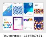 cover design templates of... | Shutterstock .eps vector #1869567691