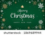 merry christmas and happy new...   Shutterstock .eps vector #1869689944