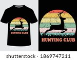 Hunting Club Quote Vector...
