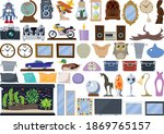 interior item set of...   Shutterstock .eps vector #1869765157