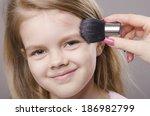 makeup artist deals powder... | Shutterstock . vector #186982799