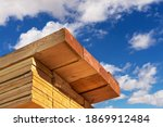 Stack of dimensional lumber for ...