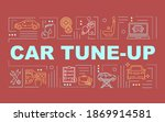 car tune up word concepts...