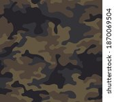 camouflage texture seamless... | Shutterstock .eps vector #1870069504