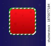 christmas  pop up game ui...