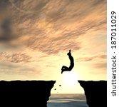 3d illustration of concept or... | Shutterstock . vector #187011029