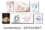 jewelry creative promotional... | Shutterstock .eps vector #1870163857