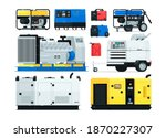 stationary  industrial and...   Shutterstock .eps vector #1870227307