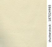 white leather texture as... | Shutterstock . vector #187024985