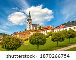 Main Square With Town Castle In ...