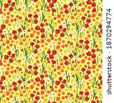 seamless pattern with many...   Shutterstock .eps vector #1870294774