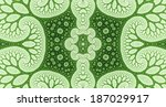 Bright Green Abstract High...
