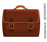 case briefcase icon. cartoon of ... | Shutterstock .eps vector #1870323907
