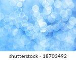 Abstract blue light - stock photo