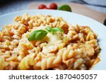 Fusilli Pasta With Chicken And...