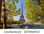 Eiffel Tower In Spring Time ...