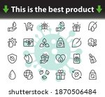 Ecology Vector Line Icons Set ...