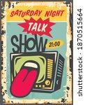 saturday night talk show...   Shutterstock .eps vector #1870515664
