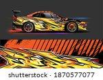 vehicle vinyl wrap design with...   Shutterstock .eps vector #1870577077