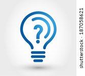 Bulb With Question Mark  Bulb...