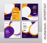 digital business marketing...   Shutterstock .eps vector #1870597267