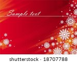 red holidays background | Shutterstock .eps vector #18707788