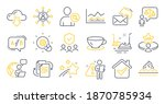 set of business icons  such as...   Shutterstock .eps vector #1870785934