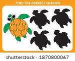 find the correct shadow... | Shutterstock .eps vector #1870800067
