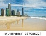 gold coast   december 25 ... | Shutterstock . vector #187086224