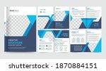 corporate business brochure... | Shutterstock .eps vector #1870884151