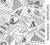 business seamless pattern   Shutterstock .eps vector #187091291