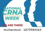national crna week. last week...   Shutterstock .eps vector #1870984564