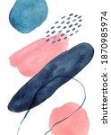 watercolor arrangements....   Shutterstock . vector #1870985974