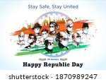 indian freedom fighter  martyrs ... | Shutterstock .eps vector #1870989247