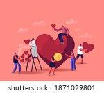 volunteering  charity support...   Shutterstock .eps vector #1871029801