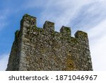 A Detail View Of The Ruins Of...