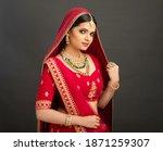 Pretty Indian Young Hindu Bride ...
