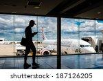 melbourne  victoria australia ... | Shutterstock . vector #187126205