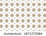 vintage ornament. vector... | Shutterstock .eps vector #1871272084