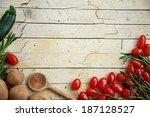 Fresh Organic Vegetables. Food...