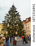 Christmas In Prague. Old Town...