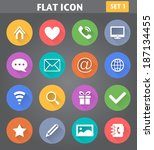 vector application web icons...