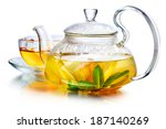 Hot Herbal Tea With Ginger ...