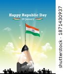 freedom fighters india ... | Shutterstock .eps vector #1871430937