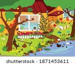 vector cartoon illustration...   Shutterstock .eps vector #1871453611